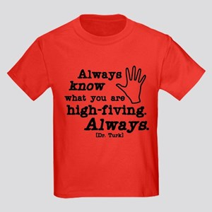 Scrubs High Five Kids Dark T-Shirt