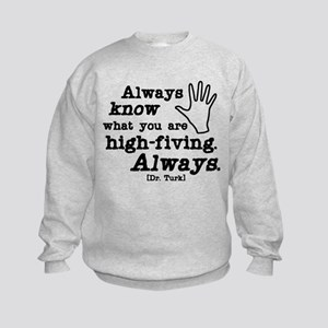 Scrubs High Five Kids Sweatshirt