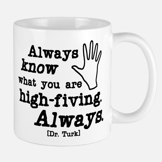 Scrubs High Five Mug