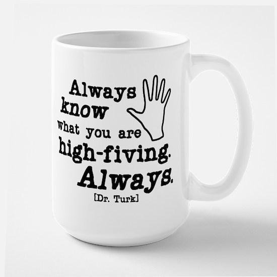 Scrubs High Five Large Mug