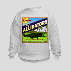 ENJOY ALLIGATORS Kids Sweatshirt