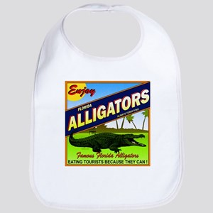 ENJOY ALLIGATORS Bib