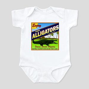 ENJOY ALLIGATORS Infant Bodysuit