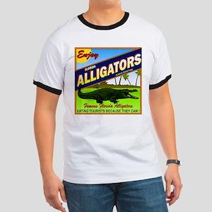 ENJOY ALLIGATORS Ringer T