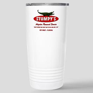 STUMPY'S GATOR REMOVAL SERVIC Stainless Steel Trav