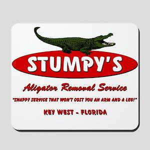 STUMPY'S GATOR REMOVAL SERVIC Mousepad