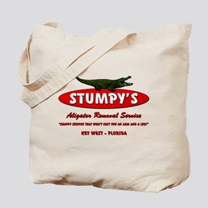 STUMPY'S GATOR REMOVAL SERVIC Tote Bag