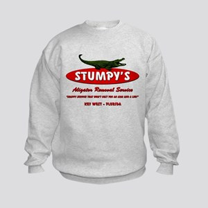 STUMPY'S GATOR REMOVAL SERVIC Kids Sweatshirt