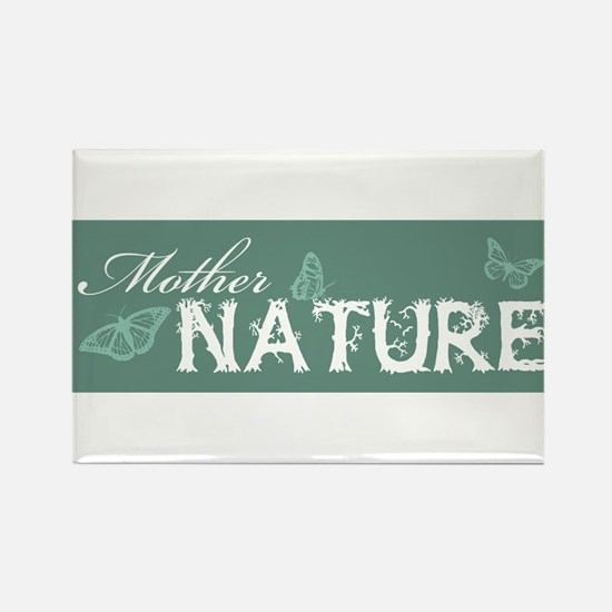 Mother Nature Rectangle Magnet
