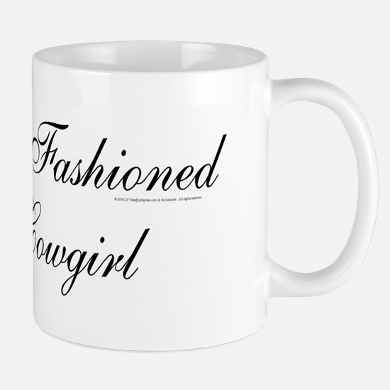 Old Fashioned Cowgirl Mug