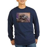 Camel Long Sleeve Dark T-Shirt
