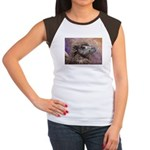 Camel Women's Cap Sleeve T-Shirt