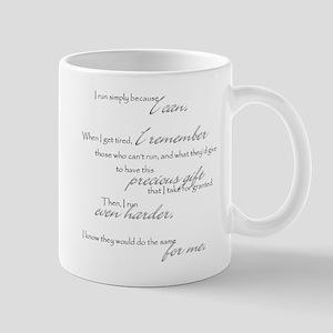 run even harder Mug