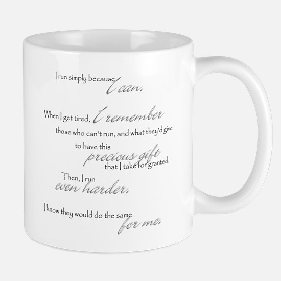 run even harder Mug