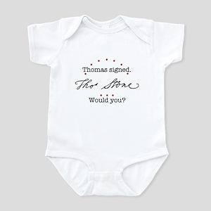 Thomas Stone Infant Bodysuit