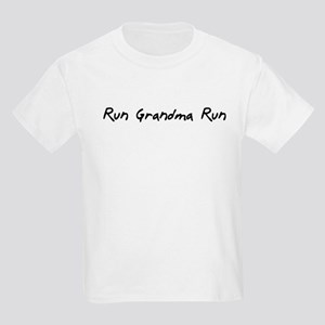 Run Grandma Run Kids Light T-Shirt