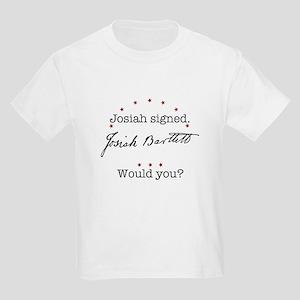 Josiah Bartlett Kids Light T-Shirt