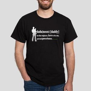 Dada (Daddy) Stay at Home Dad Dark T-Shirt