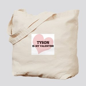 Tyson Is My Valentine Tote Bag