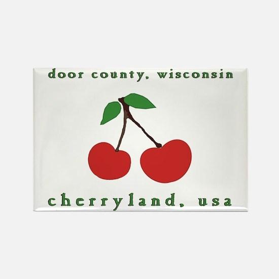 cherryland (cherries) Rectangle Magnet