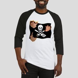 Grill Pirate (Charred) Baseball Jersey