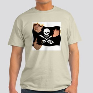 Grill Pirate (Charred) Light T-Shirt