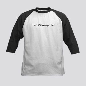 Tri Mommy Tri Kids Baseball Jersey