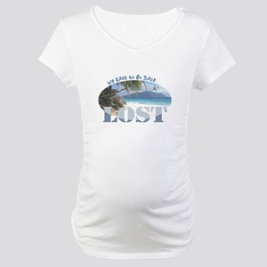 Lost Oval Maternity T-Shirt