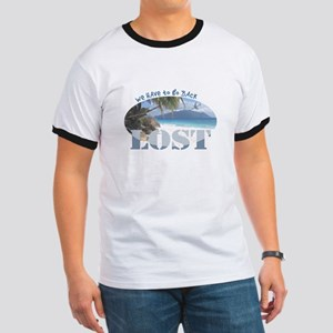 Lost Oval Ringer T