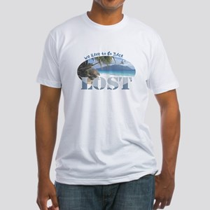 Lost Oval Fitted T-Shirt