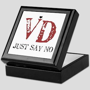 VD just say no! Keepsake Box