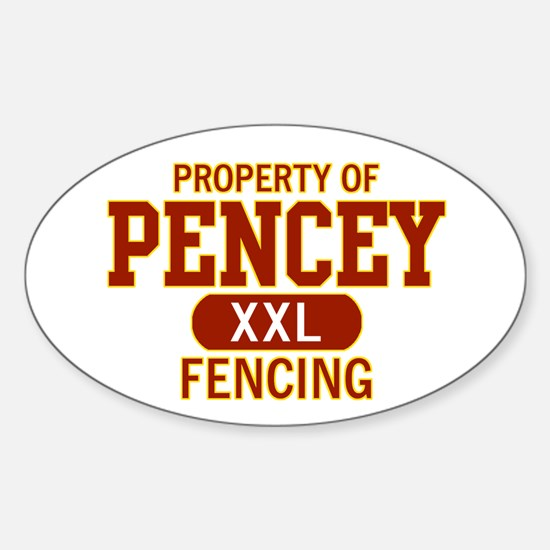 Property of Pencey Sticker (Oval)