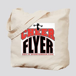 Cheer Flyer Tote Bag