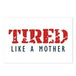 Tired like a Mother Postcards (Package of 8)