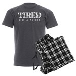Tired like a Mother Men's Charcoal Pajamas