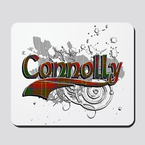 Connolly Tartan Grunge Mousepad