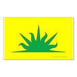 West Kingdom Populace Sticker (Rectangle 10 pk)
