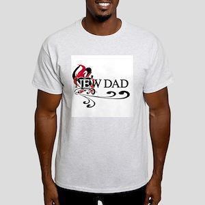Heart New Dad Light T-Shirt