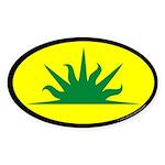 West Kingdom Populace Sticker (Oval 50 pk)