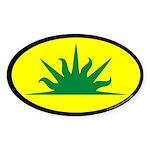 West Kingdom Populace Sticker (Oval 10 pk)