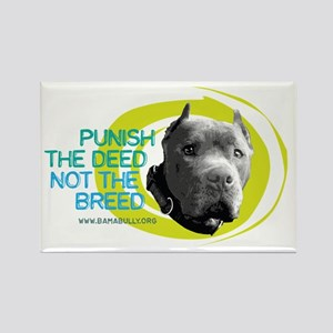 Punish the Deed Rectangle Magnet