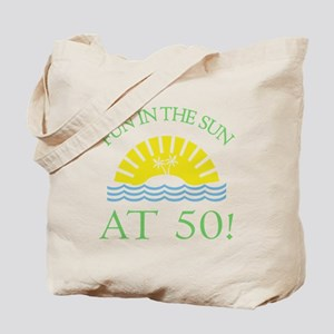 Fun 50th Tote Bag