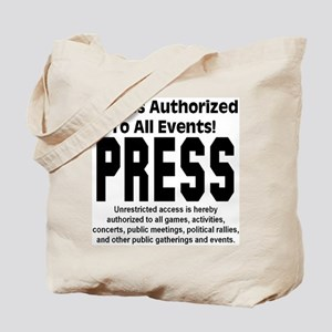 PRESS Tote Bag