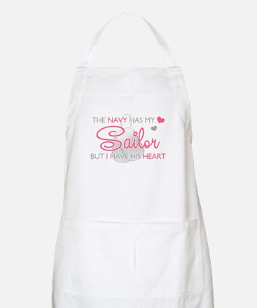 The Navy has my Soldier But I Apron