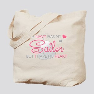 The Navy has my Soldier But I Tote Bag