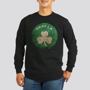 Vintage Beat LA Long Sleeve Dark T-Shirt