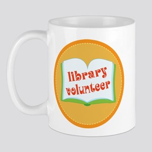 Book Library Volunteer Mug