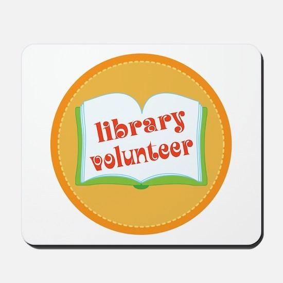 Book Library Volunteer Mousepad