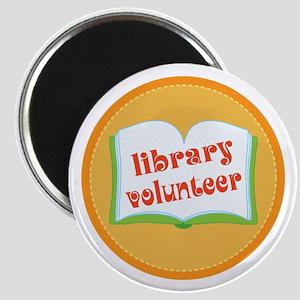 Book Library Volunteer Magnet