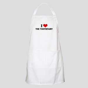 I Love the Toothfairy BBQ Apron